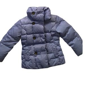 Lands' End Quilted Puffer Down Jacket